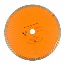 "9"" 230mm Turbo Wave Diamond Cutting Disc (Wet and Dry) Angle Grinder Disc TE45"