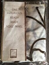 One Luxurious Ready Made Voile Panel