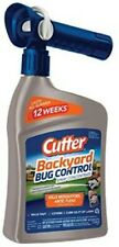 Cutter Backyard Bug Control Spray Kills Multiple Insects Mosquitoes Spray 32 oz