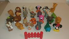 Fisher price little people zoo animals lot of 26