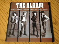 "THE ALARM - WHERE WERE YOU HIDING WHEN THE STORM BROKE     7"" VINYL PS"