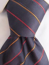 Men's Longchamp Paris Classic Silk Tie Made in Italy V25354