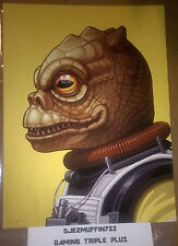 BOSSK 12X16 GICLEE (MIKE MITCHELL) STAR WARS (OOP) MONDO