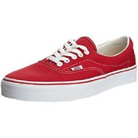 Vans Off The Wall Era 59 MLX Unisex Casual Lace Up Canvas Trainers Red/White