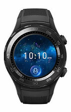 Huawei Watch 2 45mm Plastic Case Sport Band Carbon Black