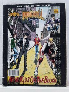 Rock n' Roll Comics #12 New Kids On The Block (1990) VF/F First Print Copper Age