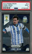 2014 Panini Prizm World Cup Lionel Messi Card #12 Graded PSA 9 MINT 1st YEAR WOW