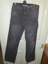 jeans Size W32 L30 Next 100% cotton black/grey in very good condition 1982
