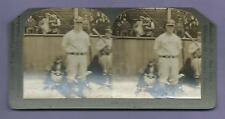 CIRCA 1925 LOU GEHRIG STEREOVIEW VINTAGE YANKEES BASEBALL CARD PICTURE PHOTO WOW