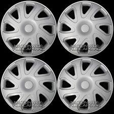 "SET OF 4 14"" Hub Caps Full Wheel Covers Rim Cap Lug Cover Hubs for Steel Wheels"