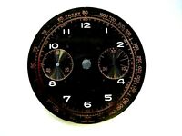 Cadran Noir watch Ø 33,3 mm zifferblatt dial black landeron 48 51 148 151 248 n2