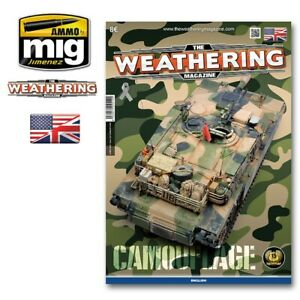 MIG AMMO 4519 WEATHERING MAGAZINE CAMOUFLAGE GUIDE BOOK FOR CAMO EFFECTS
