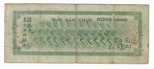 New listing French Indochina 50 Piastres P-77 Nd ( 1945 )