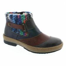 Calzado de mujer botines azules, talla 37
