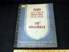 "1949 FORD, Mercury, Monarch 118"" Wheelbase Cars Parts Book Illustrated CDN"