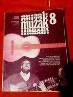 MUZAK 8 1975 Coltrane Wyatt Oldfield Weather Report Maxophone Roberta D'Angelo