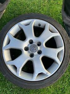 Vauxhall Meriva VXR snowflake alloy wheels Astra Corsa gsi vxr