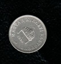 HUNGARY 10 FILLER 1894