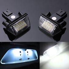 2x ERROR FREE LED LICENSE NUMBER PLATE LIGHT FOR PEUGEOT 206 207 306 307 406 407