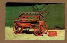 used in Chicago,IL fire 1871,Hand Drawn hand pumper,George F Getz Lake Geneva,WI