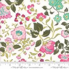 Moda Regent Street Lawn 2016 English Garden Fabric in Ivory 33190-11