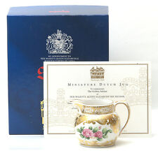 Spode The Golden Jubilee Miniature Dutch Jug, Limited Edition Of 500 * BOXED *