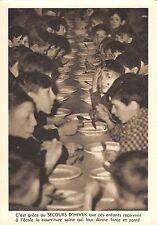 BR55122 La soupe quotidienne a l ecole realisations du secors d Hiver belgium