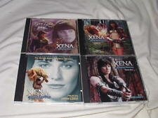 LOT of Xena: Warrior Princess/Soundtrack CD's 5-Discs Lucy Lawless Television