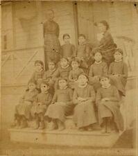 NATIVE AMERICAN GIRLS SCHOOL AGENCY NEBRASKA STEREOVIEW