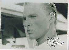 BOND 007 The Living Daylights signed 10x8 - ANDREAS WISNIEWSKI as NECROS