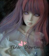 1 3 8-9 Bjd Parrucca Dal Pullip BJD SD DZ DOD LUTS Dollfie Doll long pink purple