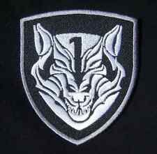 MEDAL OF HONOR TIER1 NAVY WOLFPACK AOR1 SILVER SWAT VELCRO® BRAND FASTENER PATCH