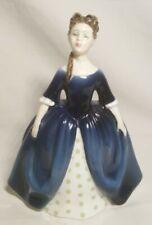 """Vintage Royal Doulton """"Debbie"""" Figurine Victorian Statue Hn2385 Copr1968"""