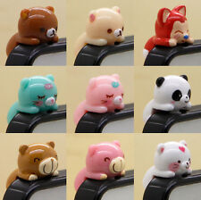 Cartoon Animal Anti-Dust Earphone Jack Plug Stopper Cap Mobile Phone Accessories
