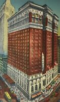 Vtg Hotel McAlpin New York NY Postcard Posted 1943 Stamp Broadway at 34th Street