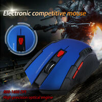2.4GHz Mini Wireless Optical Gaming Mouse Mice With USB Receiver For Laptop PC