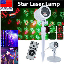 Christmas Projector Lights LED Laser Landscape Indoor Outdoor Xmas Lamps For KTV