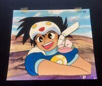 NG KNIGHT RAMUNE & 40  anime cel B2 w/ Background & Genga ~ Ray Rohr