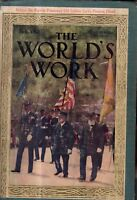 1912 World's Work February Rodgers crashes in Spofford TX; Fate of Alaska;Persia