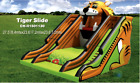 30x25x25 Commercial Inflatable Tiger Water Slide Bounce House Obstacle Course