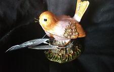 NWT Creative Co-Op Pewter Bird Jewelry Box