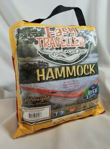 Byer of Maine Easy Traveller Hammock Red, Lightweight, Compact, 275 lb limit