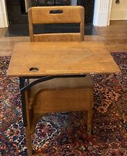 Old Vintage Antique Child's School Desk Chair - Perfect For Home Schooling !