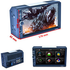 "7"" Vehicle Car MP3 MP5 Music Player Bluetooth ISO Line TF Card USB Device AUX IN"