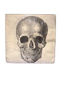 Gothic Skull Napkins
