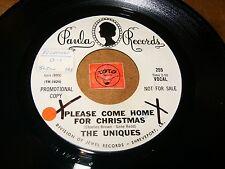 THE UNIQUES - PLEASE COME HOME FOR CHRISTMAS   / LISTEN - POP ROCK