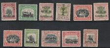 North Borneo - Postage due selection of 11 stamps - mounted mint