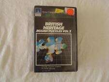 ATARI SOFTWARE British Heritage Jigsaw Puzzles Vol 2 400/800 Cassette