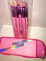 MORPHE X JEFFREE STAR The Eye Brush Collection Case EYESHADOW BRUSHES Set of 10