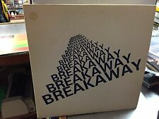 BREAKAWAY S/T Self Titled LP ORIG 1977 VG+ private press SIGNED Alt Cover Art